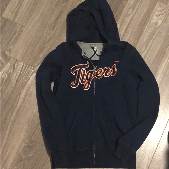 huge selection of f906c 1ae81 Detroit Tigers Nike Zip-up